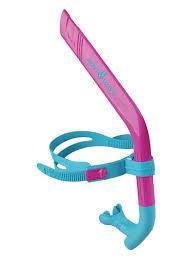Mad Wave Трубка для плавания Swim Snorkel JR розовая