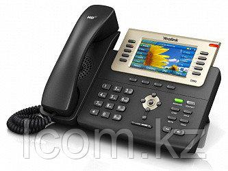 Yealink SIP-T29G, цветной экран, 16 аккаунтов, BLF, PoE, GigE, с БП