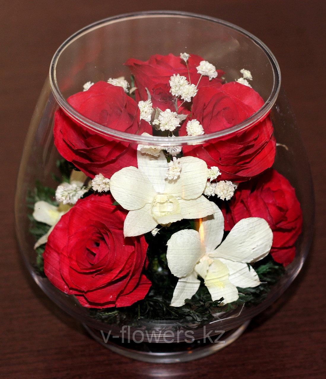 Вечные живые цветы LMM-01