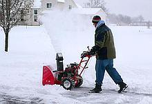 Снегоуборочная машина на колёсах TCH ZZ 0560