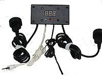 Терморегулятор ТР1-2 одноканальный, с двумя выносными розетками на шнурах