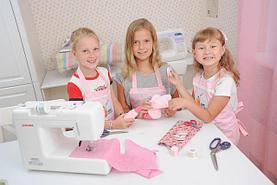 Детские швейные машинки/наборы для шитья