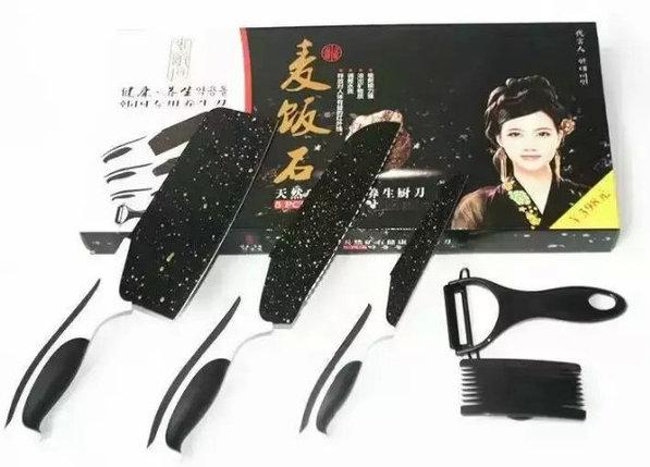 Набор ножей Black Stone (Блэк Стоун), фото 2