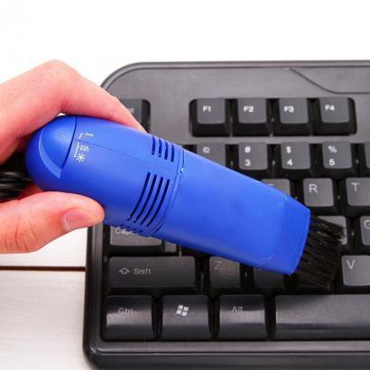 Мини ЮСБ пылесос для клавиатуры