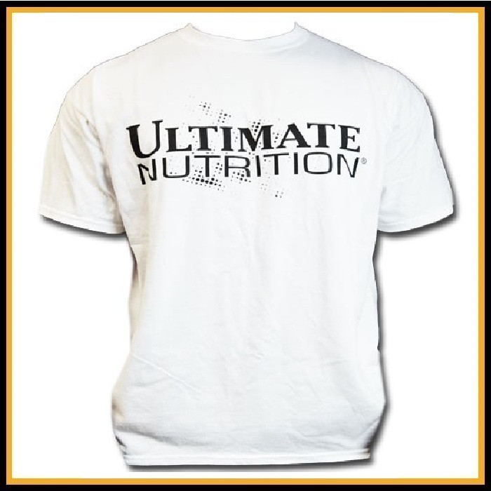 Футболка белая Ultimate Nutrition размер - L