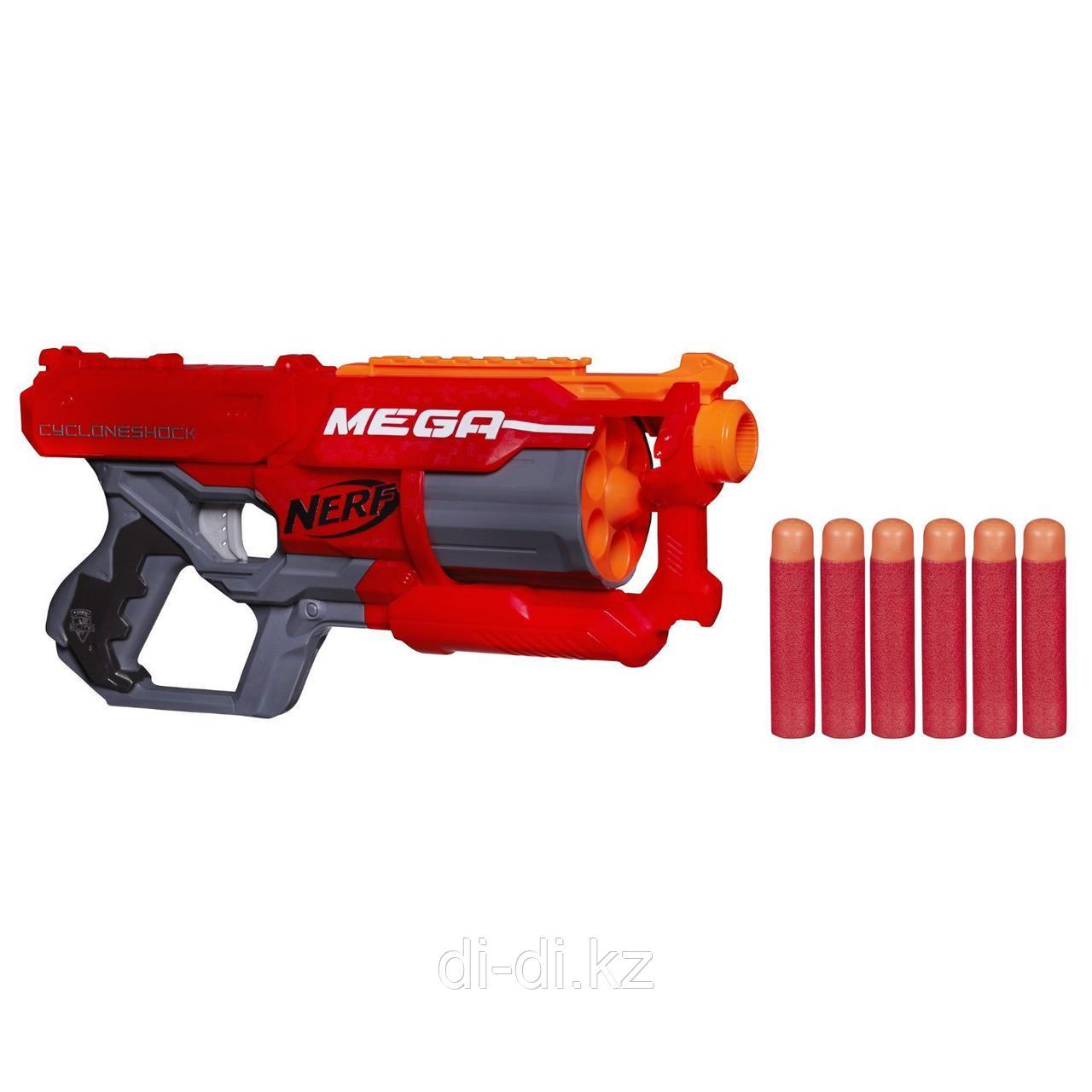 Игрушечное оружие NERF Бластер Мега Циклон-шок