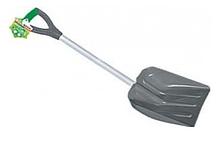 Лопата снеговая 275 х 320 мм металлический черенок морозостойкий пластик PALISAD 61502 (002)