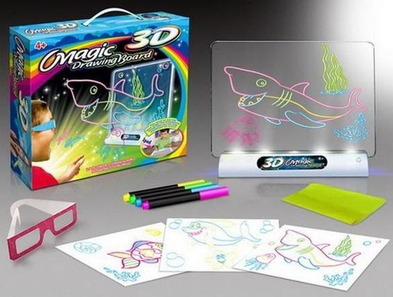 Доска 3D для рисования 4в1, фото 2