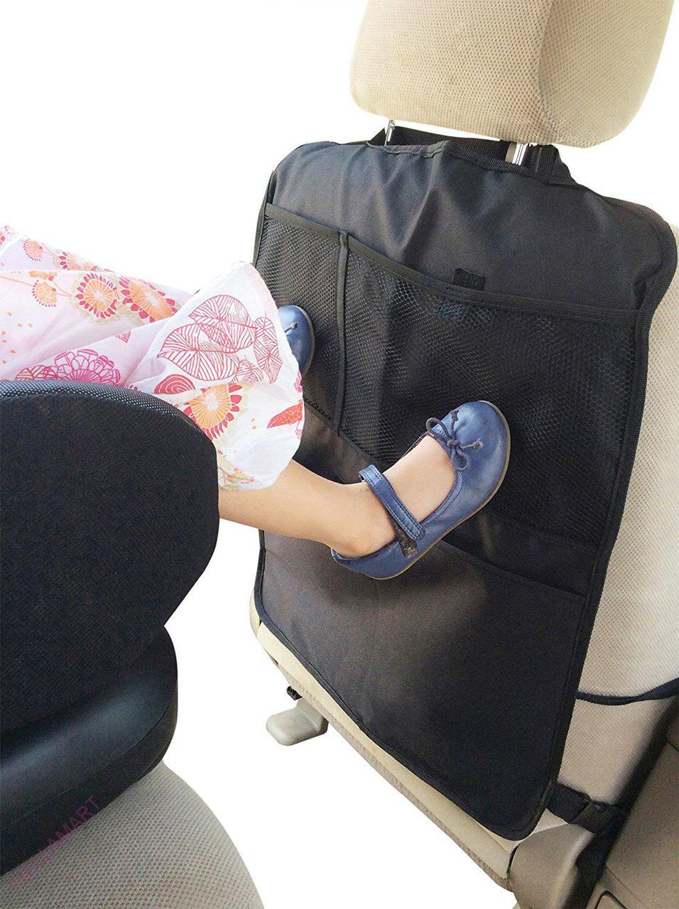 Чехол накидка на спинку переднего сиденья в авто