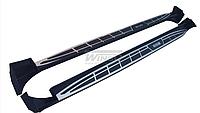 Подножки на Toyota RAV4  2013-18, фото 1
