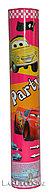Пневмоническая хлопушка (Party Popper) Тачки 26 см