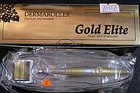 Мезороллер мод.Gold Elite 5+ позолоченные титановые иглы  0,5 мм (лазер.заточка)