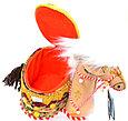 """Сувенир """"Верблюд  с овальной шкатулкой""""., фото 2"""