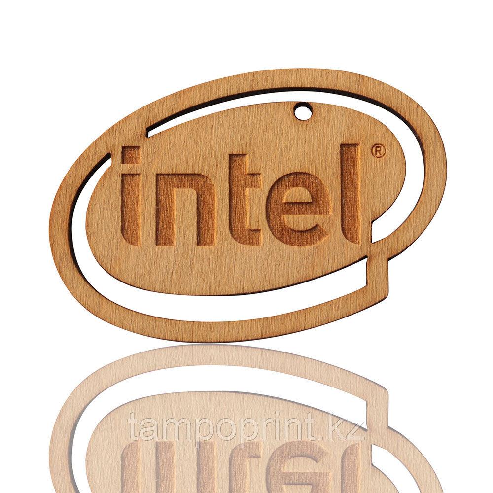 """Сувенир """"Intel"""" DS026 без лака"""