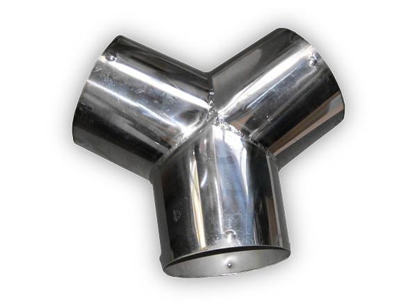 Y-образный разветвитель 102 мм - 102 мм Trommelberg