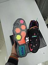 Баскетбольные кроссовки Nike Lebron XII (12) Black from Lebron James, фото 3