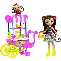 Кукла Enchantimals со зверушкой и транспортным средством FCG93