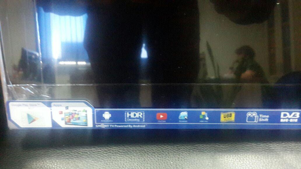 Телевизор YASIN LED-55E5000K SMART, WI-FI, 4K, Android TV - фото 2