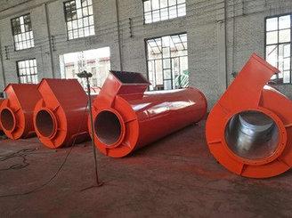 Цилиндр центробежного пылеуловителя D1300x4570мм FGX-12