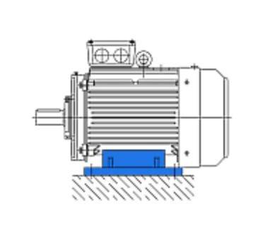 Электродвигатель VB-20114-W, 1,1кВт