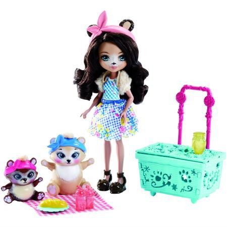 Кукла Enchantimals со зверушкой и тематическим набором (FCC64)