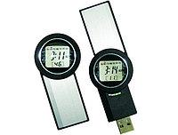 USB флеш память на 2Gb черно-серебристый