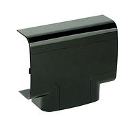 DKC Тройник 110х50 мм, черный, фото 1