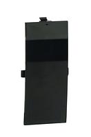 Накладка на стык фронтальная 60 мм, чёрная, фото 1