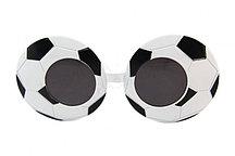Карнавальные очки Футбольный мяч