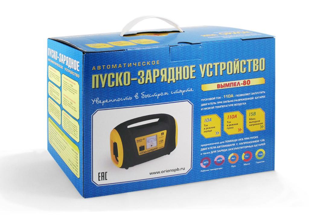 Автомобильное Пуско-зарядное устройство ВЫМПЕЛ-80