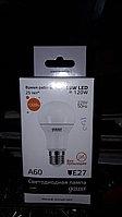 "Светодиодная лампа, 15W LED=120W, E27 форма ""Шар"""