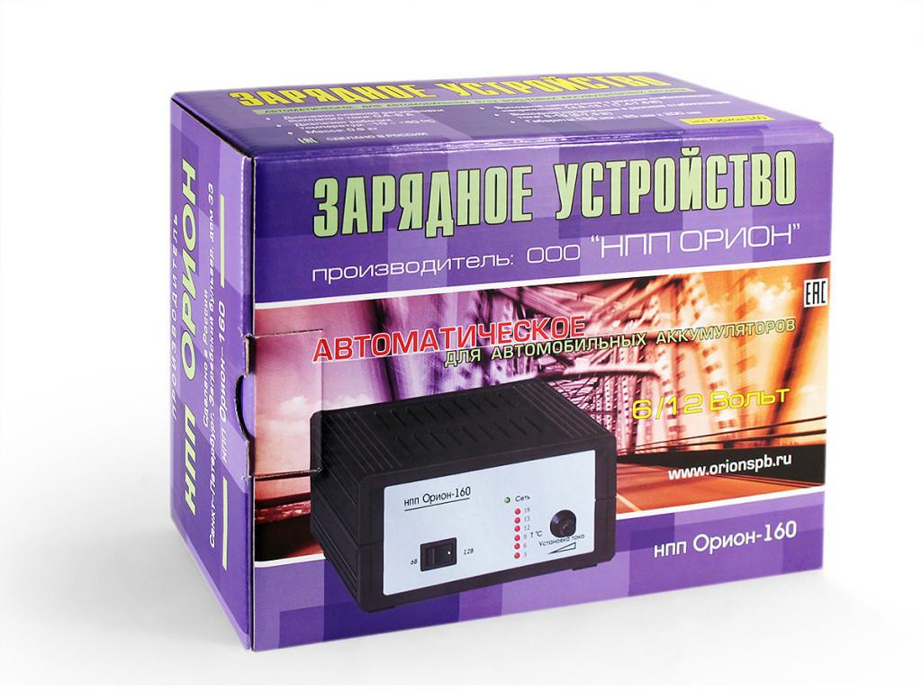 Автомобильное Зарядное устройство НПП Орион-160