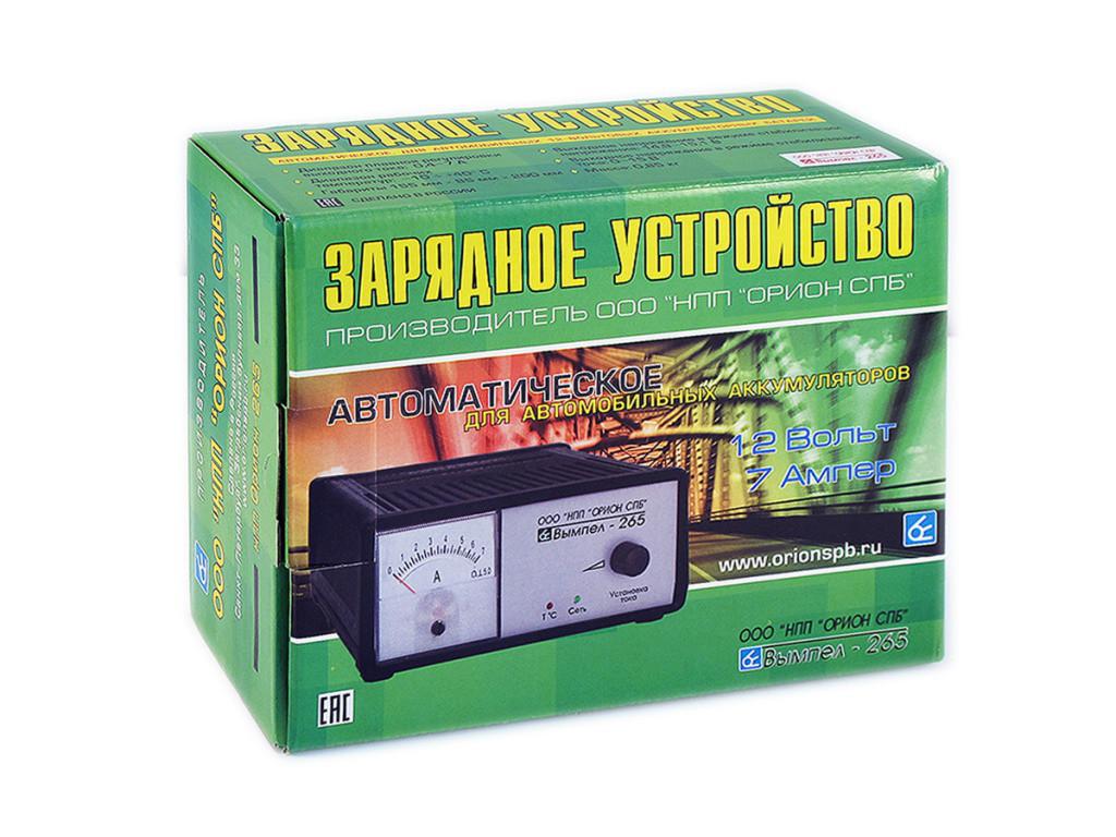 Автомобильное Зарядное устройство НПП Орион-265