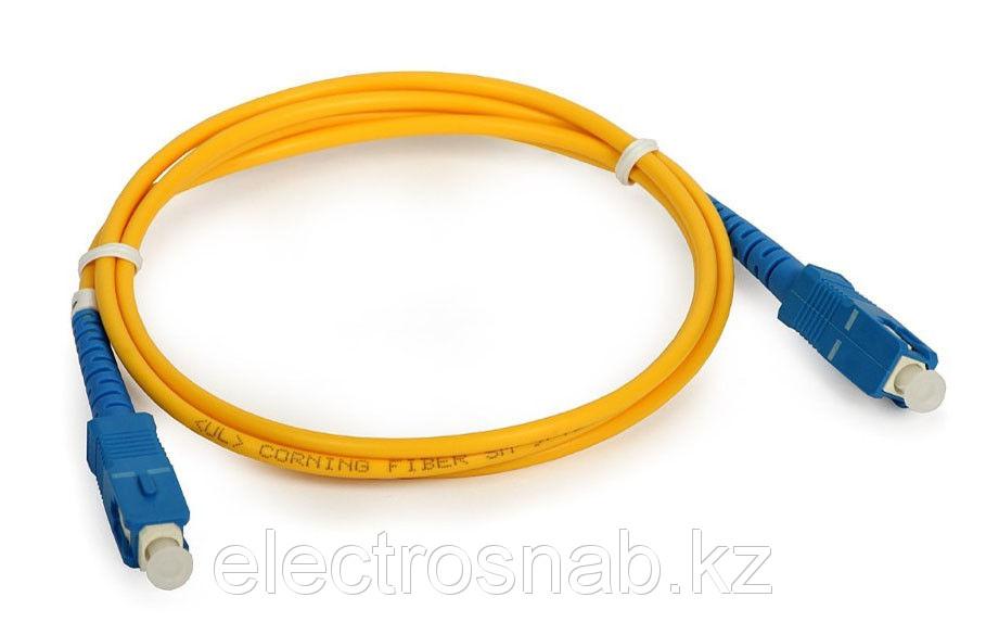 Оптический патчкорд SC/UPC-SC/UPC Simplex SM