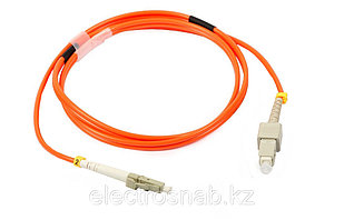 Оптический патчкорд SC/UPC-LC/UPC Simplex MM