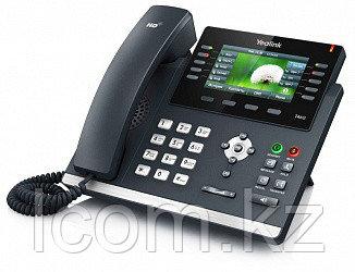 Yealink SIP-T46S (цветной экран,16 аккаунтов,BLF,PoE,GigE) , без блока питания.