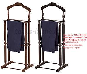 """Вешалка для костюма деревянная 2-ная, ленивый слуга """"Табыс"""" GC 2272, фото 2"""