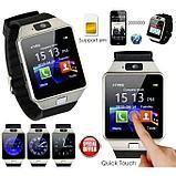 Умные часы-телефон Smart Watch DZ09, фото 2