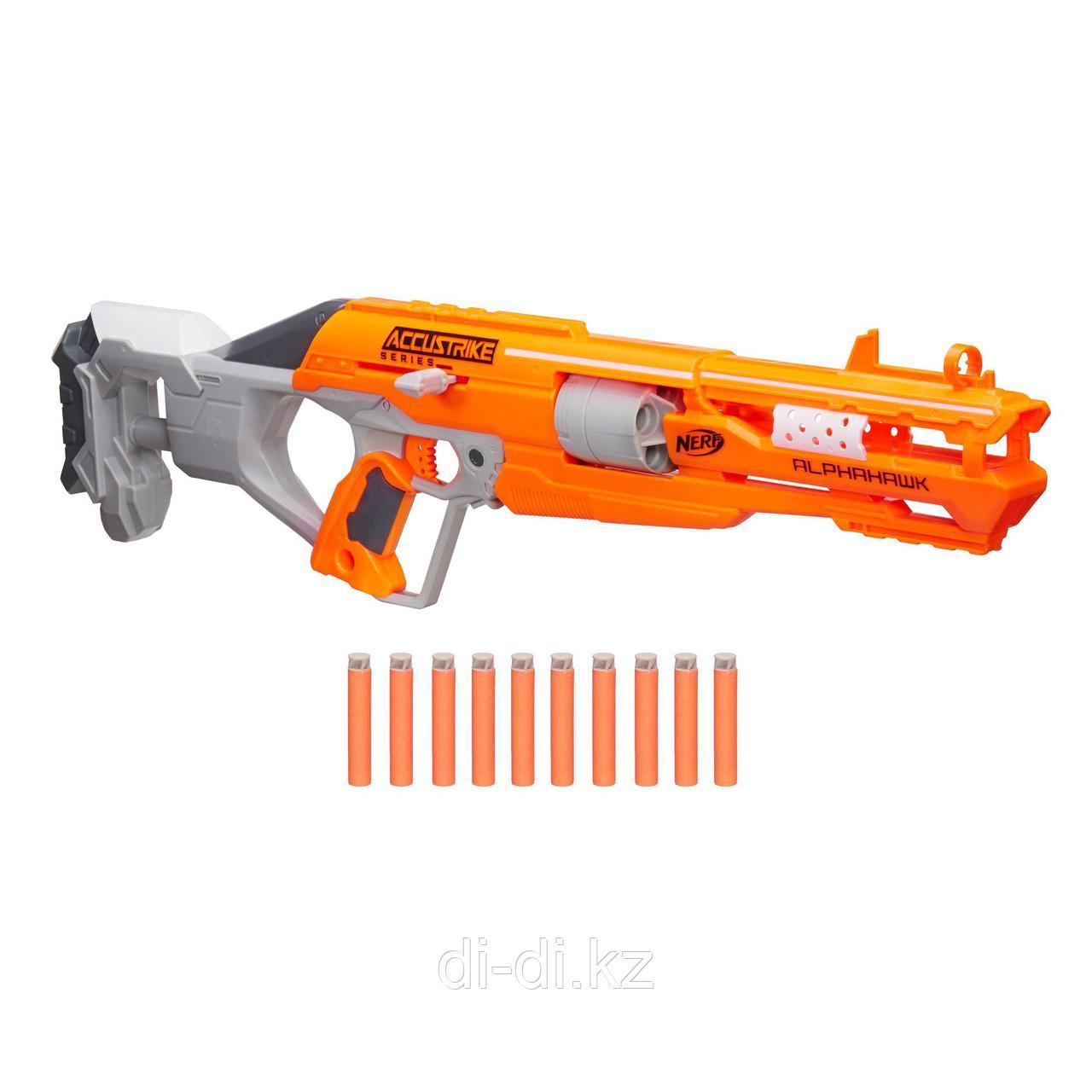 Игрушечное оружие NRF АККУСТРАЙК Альфахок (бластер)