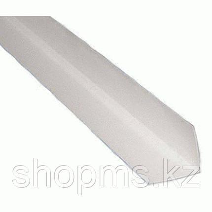 Угол пластиковый 20*20 белый 2,7 м, фото 2
