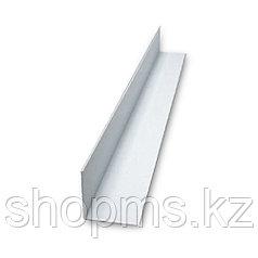 Угол пластиковый 50*50 белый 2,7 м