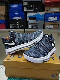 Баскетбольные кроссовки  Nike KD X (10) from Kevin Durant темно-серые