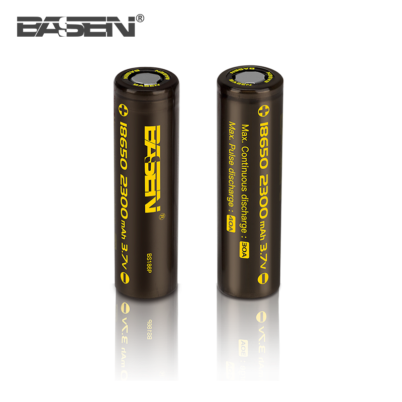 Аккумулятор 18650, BASEN 2300 MAh, 30A