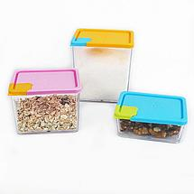 Набор контейнеров для сыпучих предметов 6штук, фото 3