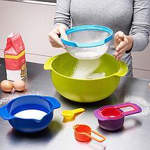 Кухонный набор радуга 8 предметов, фото 3