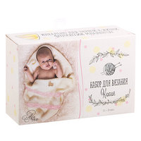 Костюмы для новорожденных 'Мамина радость', набор для вязания, 21 x 14 x 8 см