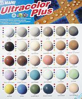 Затирка Mapei ultrocolor plus 144 ( шоколадный- цвет)