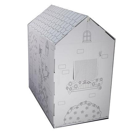 Картонный домик-раскраска, фото 2