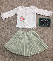 Юбка-костюм для маленьких девочек, фото 1