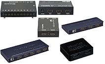 Сплиттеры HDMI,VGA.Свитчеры HDMI.Квадраторы HDMI.Матричные коммутаторы HDMI.